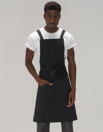 Statement Crossover Bib Apron